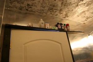 Shelf above the door